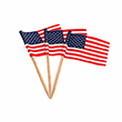 USA Toothpick Flags - 100 Count