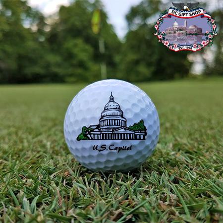 United States Capitol Golf Ball