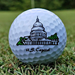 United States Capitol Golf Ball