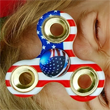 United States Flag Fidget Spinner