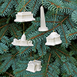 Washington DC Landmarks Ornament Set
