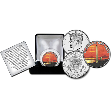 Washington Memorial Commemorative Coin