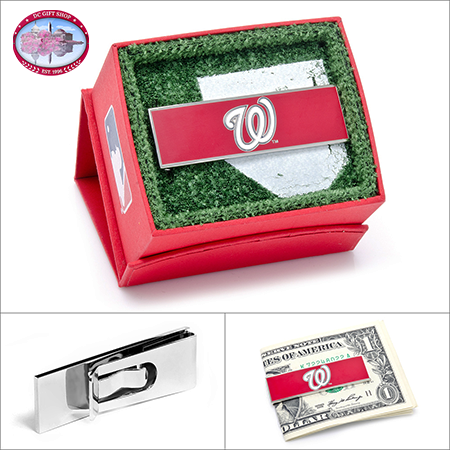 Washington Nationals Team Money Clip