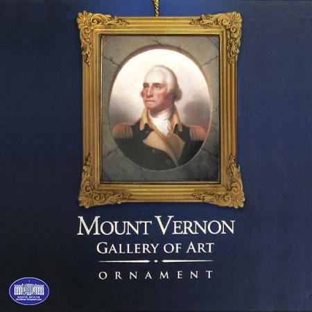 Washington Porthole Portrait Framed Ornament