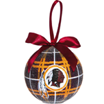 Washington Redskins - 100mm LED Ball Ornament