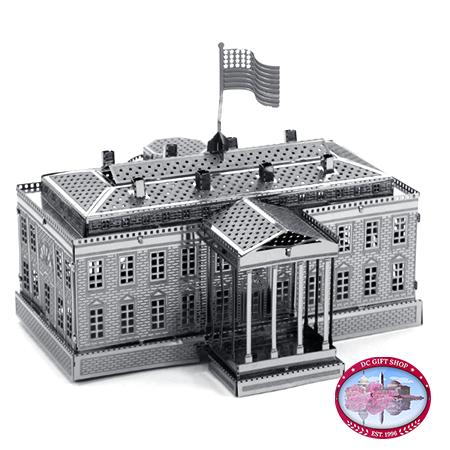 White House 3D Laser Cut Model
