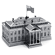 White House 3D Laser Cut Model