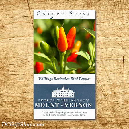 Barbados Bird Pepper Heirloom Seeds - 3 pack