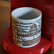 Words of Washington DC Landmarks Coffee Cup