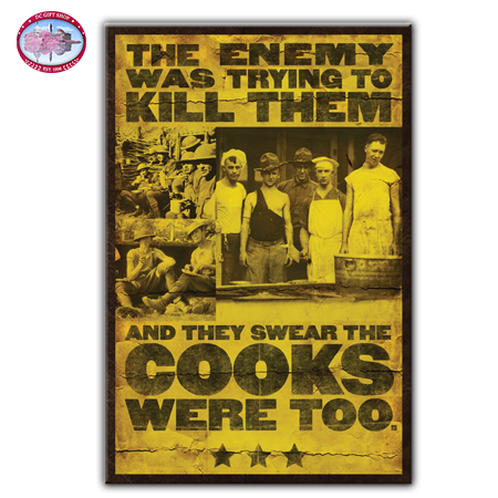 World War One Commemorative Sign - Cooks