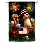 Yankee Doodle Dog Flag