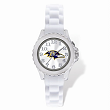 Youth NFL Baltimore Ravens Flash White Strap Watch